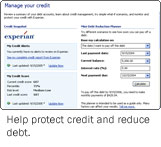 Help protect credit and reduce debt