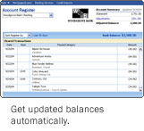 Get updated Balances Automatically