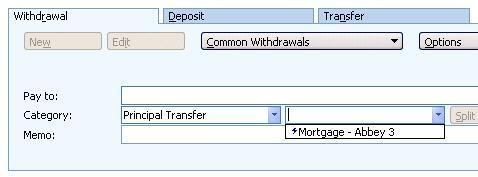 additional loan payment using principal transfer