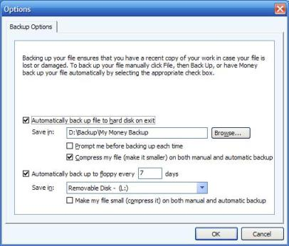 how to backup the microsoft money file microsoft ms money faq and